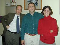 Michael Bentley, Charlie Burke, Janet Barnes