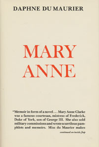 Du Maurier/Mary Anne