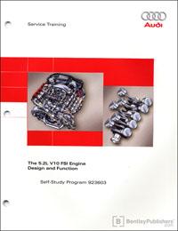 Audi 5.2L V10 FSI Engine SSP