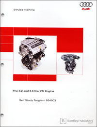 Audi 3.2 and 3.6 L FSI Engine SSP