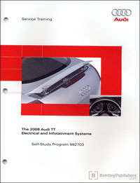 2008 Audi TT Elec and Info Sys SSP