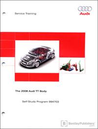 The 2008 Audi TT Body SSP