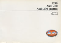AUDI 200/200 QUATTRO 1990 OM