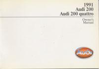 AUDI 200/200 QUATTRO 1991 OM