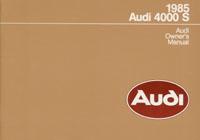 Audi 4000 S 1985 OM