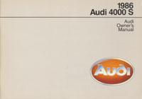 AUDI 4000 S 1986 OM