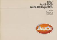 Audi 4000/4000 quattro 1987 OM