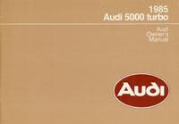 AUDI 5000 TURBO 1985 OM