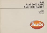 AUDI 5000 TURBO & QUATTRO 1986 OM