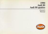 AUDI 80/80 QUATTRO 1990 OM
