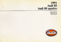AUDI 80/80 QUATTRO 1991 OM        