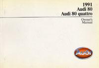 AUDI 80/80 QUATTRO 1991 OM