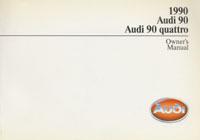 AUDI 90/90 QUATTRO 1990 OM