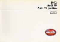AUDI 90/90 QUATTRO 1992 OM