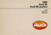 AUDI 90/90 QUATTRO 1989 OM