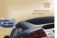 Audi TT Coupe Owner's Manual: 2002