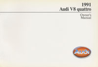 Audi V8 quattro 1991 OM