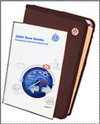 VW New Beetle 2000 OM Binder