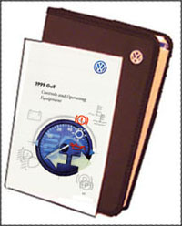 VW GOLF A4 1999 OM BINDER