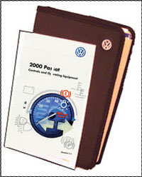 VW PASSAT 2000 OM BINDER