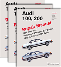 audi repair manual audi 100 200 1989 1991 bentley publishers rh bentleypublishers com 1970 Audi 100 1970 Audi 100