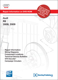 Audi R8 2008-2009 DVD-ROM