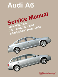 audi audi repair manual a6 s6 1998 2004 bentley publishers rh bentleypublishers com audi a6 repair manual