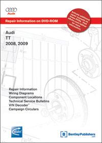 Audi TT 2008-2009 DVD-ROM