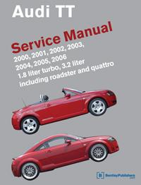 Audi TT 2000-2006 Service Manual