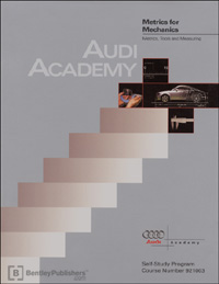 Audi Metrics for Mechanics SSP