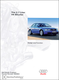 Audi The 2.7 Liter V6 Biturbo SSP
