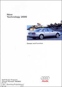 Audi New Technology 2000 SSP