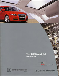 Audi 2006 A3 Overview SSP