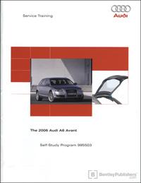Audi 2006 A6 Avant SSP