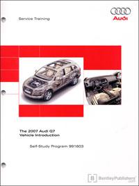2007 Audi Q7 Vehicle Intro SSP
