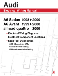 Audi A6 Electrical Wiring Manual: 1998-2000 - Bentley Publishers - Repair  Manuals and Automotive Books | Wiring Diagram For 2000 Audi A6 |  | Bentley Publishers