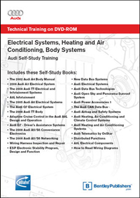 Audi SSP Electrical on DVD
