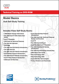 Audi SSP Model Basics on DVD