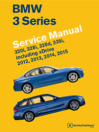 BMW 3 Series (F30, F31, F34) Service Manual - 2012-2015