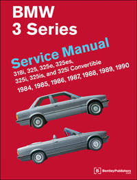 BMW 3 Series(E30) 1984-1990 Manual