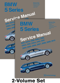 BMW 5 Series Repair Manual 2004-10