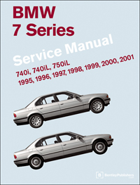 BMW 7 Series Manual: 1995-2001