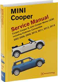 mini cooper service manual 2007 2013 bentley publishers repair rh bentleypublishers com mini cooper s service manual download mini cooper s service manual pdf
