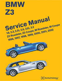 bmw repair manual z3 roadster z3 coupe m roadster m coupe 1996 2002 be. Black Bedroom Furniture Sets. Home Design Ideas
