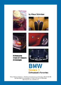 BMW Notecards: Series 1