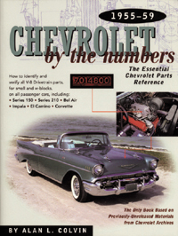 Chevy by the Numbers: 55-59