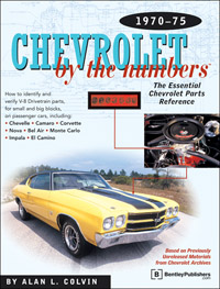 Chevy by the Numbers: 70-75       