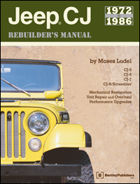 Jeep CJ Rebuilder�s Manual: 72-86