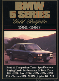BMW 5 Series Gold Portfolio 81-87