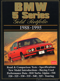 BMW 5 Series Gold Portfolio 88-95 